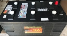 SUPERCHARGE N200 DEEP CYCLE BATTERY 220AH US BATTERY FREE SHIPPING EXCEPT RURAL ADDRESSES