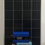 SOLAR PANEL BUNDLE – 160w Solar Panel, 20w Controller, 120AH Battery, 1000w inverter 2