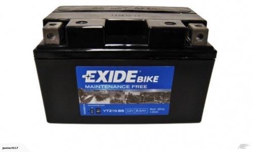 MOTORBIKE BATTERY Exide 12V 8.6AH YTZ10-S YTX7A-BS