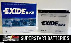 Motorbike Battery – Exide YB16AL-A2 12v 16ah CB16AL-A2