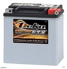 Motorbike battery Deka ETX14L 410 cca YTX14L-BS STX14L-BS FREE SHIPPING NATIONWIDE