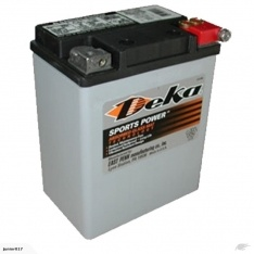 Motorbike battery Deka ETX15L 325 CCA AGM GEL BATTERY FREE SHIPPING NATIONWIDE