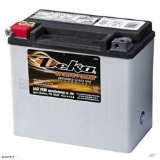 Motorbike battery Deka ETX16 435 CCA 19AH FREE SHIPPING NATIONWIDE