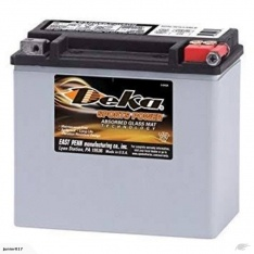 Motorbike battery Deka ETX16L 435 CCA 19AH FREE SHIPPING NATIONWIDE