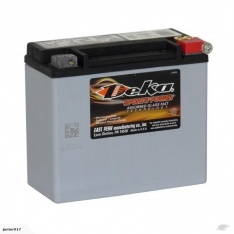 MMOTORBIKE BATTERY Deka ETX18L 20AH 450 cca AGM GEL FREE SHIPPING NATIONWIDE