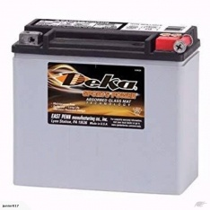 Motorbike Battery Deka ETX20L 12v 17.5AH 430 CCA YTX20LBS FREE SHIPPING NATIONWIDE