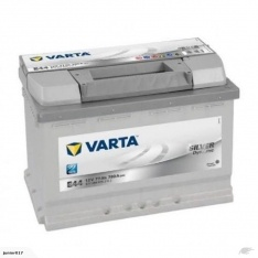 VARTA E44 BATTERY VARTA DIN66L SILVER DYNAMIC BATTERY 780 CCA