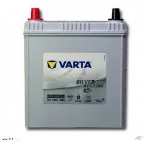 VARTA S34B20R BATTERY AGM 340 CCA 35 AH - TOYOTA PRIUS BATTERY FREE SHIPPING EXCEPT RURAL AREAS