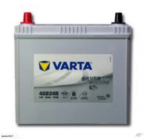 VARTA S46B24R BATTERY AGM 370 CCA 45 AH - TOYOTA PRIUS BATTERY BATTERY FREE SHIPPING EXCEPT RURAL AREAS