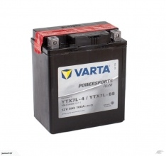Motorbike Battery VARTA YTX7L-BS 12V 6AH 100 CCA PTX7L-BS YTX7L-BS FREE SHIPPING NATIONWIDE