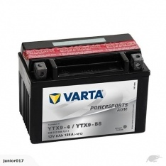Motorcycle battery 12v 8ah 120 cca VARTA YTX9-BS battery FREE SHIPPING NATIONWIDE