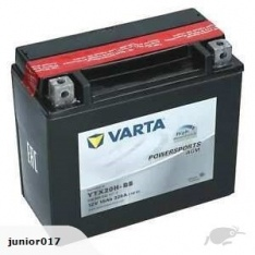 Motorcycle Battery YTX20H YTX20H-4 YTX20H-BS MPLX20UHDHP VARTA FREE SHIPPING NATIONWIDE