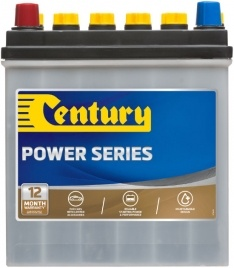 GNS40ZS CENTURY EXTRA HEAVY DUTY POWER SERIES NS40 NS40RS 230 CCA 12 MONTHS WARRANTY