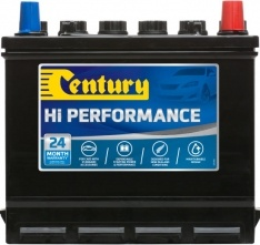 47 CENTURY HI PERFORMANCE CAR BATTERY 410 CCA 24 MONTHS WARRANTY