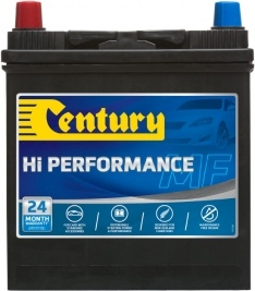 40B20RMF CENTURY HI PERFORMANCE CAR BATTERY NS40 NS40R 310 CCA 24 MONTHS WARRANTY