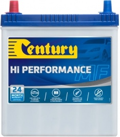 NS40ZSMFHP CENTURY HI PERFORMANCE CAR BATTERY NS40 NS40RS 330 CCA 24 MONTHS WARRANTY