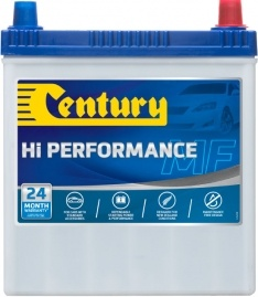 NS40ZLSMFHP CENTURY HI PERFORMANCE CAR BATTERY NS40 NS40LS 330 CCA 24 MONTHS WARRANTY