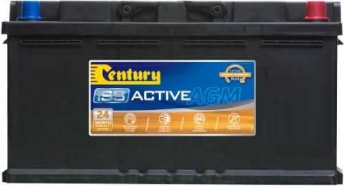 DIN75LAGM Century Start-Stop AGM Battery 12V 640 CCA LN4 DIN75 DIN77H 24 MONTHS WARRANTY