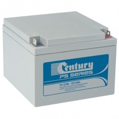 PS12240 Century PS Stationary Power 12v 24ah AGM Deep-Cycle Batteries Sealed