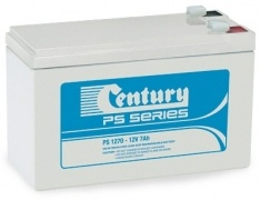 PS1270 Century PS Stationary Power 12v 7ah AGM Deep-Cycle Batteries Sealed