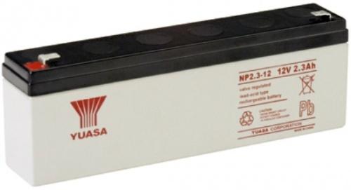 NP2.3-12FR Yuasa NP Stationary Power 12v 2.3ah AGM Deep-Cycle Batteries Sealed