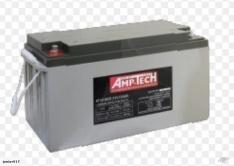 AGM DEEP CYCLE BATTERY 150 AH AMPTECH AT121500D