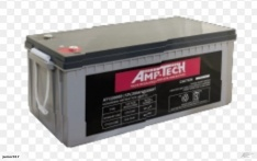 N200 AGM DEEP CYCLE BATTERY 200 AH AMPTECH 122000D