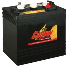 Crown 6 Volt Battery Crown CR205 6V 205 AH