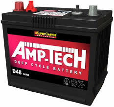 AMPTECH 12V 60AH DEEP CYCLE BATTERY D48 AMPTECH D48