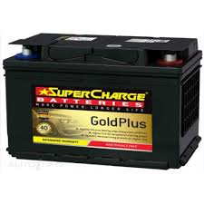 SUPERCHARGE DIN65L BATTERY EUROPEAN 720 CCA GOLD 40 MONTHS WARRANTY