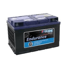 DIN66MF EXIDE ENDURANCE BATTERY DIN66L 650 CCA 30 MONTHS WARRANTY FREE SHIPPING EXCEPT RURAL AREAS