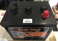 ED1 battery 6 volt DEEP CYCLE BATTERY EXIDE ED12 FREE SHIPPING EXCEPT RURAL ADDRESSES