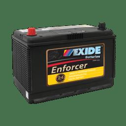 EXIDE EN70ZZMF AUTO/COMMERCIAL BATTERY EXIDE ENFORCER (N70Z, N70ZZ) 24 MONTH WARRANTY