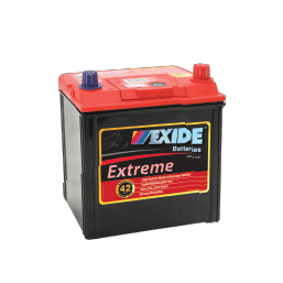 X40CMF EXIDE EXTREME BATTERY NS40 400CCA 42 MONTHS WARRANTY FREE SHIPPING EXCEPT RURAL ADDRESSES