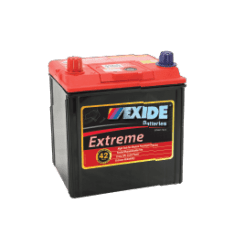 X40DMF EXIDE EXTREME BATTERY NS40 400CCA 42 MONTHS WARRANTY