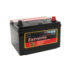 X58CMF EXIDE EXTREME BATTERY 58MF 540CCA 42 MONTHS WARRANTY
