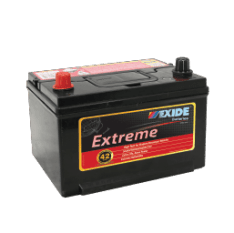 X58DMF EXIDE EXTREME BATTERY 58MF 540CCA 42 MONTHS WARRANTY
