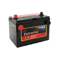 X78DT-60MF EXIDE EXTREME BATTERY 60MF 760CCA 42 MONTHS WARRANTY FREE SHIPPING EXCEPT RURAL ADDRESSES
