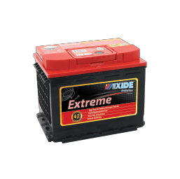 XDIN55HMF EXIDE EXTREME BATTERY DIN55 600CCA 42 MONTHS WARRANTY FREE SHIPPING EXCEPT RURAL ADDRESSES