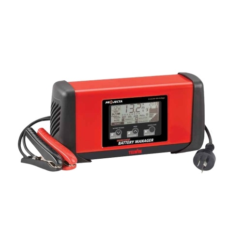 Projecta 8 Stage 6/12/24v 3-40a Work Shop Battery Charger and Battery Manager PROJECTA HDBM4000