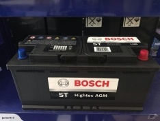 BOSCH LN6 AGM START-STOP BATTERY 950 CCA 105 AH