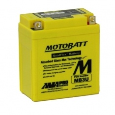 MOTOBATT QUADFLEX MB3U 12V 3AH MOTORBIKE BATTERY YB3L-A FREE SHIPPING NATIONWIDE