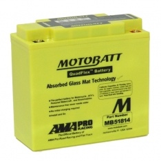 MOTOBATT QUADFLEX MB51814 12V 220CCA MOTORBIKE BATTERY 51814 FREE SHIPPING NATIONWIDE