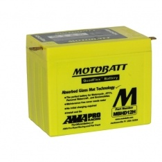 MOTOBATT QUADFLEX MBHD12H 12V 390CCA MOTORBIKE BATTERY YDH-12H FREE SHIPPING NATIONWIDE