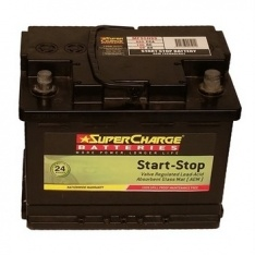 SuperCharge MF44HSS Start-Stop AGM Battery 12V 570CCA