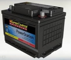 SUPERCHARGE DIN53L, DIN55L BATTERY EUROPEAN 480 CCA 2 YEAR WARRANTY