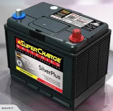 SUPERCHARGE NS70L BATTERY COMMERCIAL 620 CCA 30 MONTHS WARRANTY