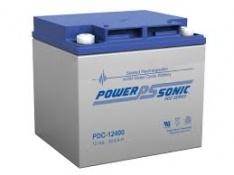 POWERSONIC PDC-12400 12v 40ah AGM Deep-Cycle Batteries Sealed