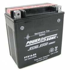 POWERSONIC MOTORBIKE BATTERY 12V 18AH PTX20-BS 250cca (jet ski)