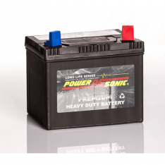 POWER-SONIC PU1-60MF 12V CALCIUM LAWN MOWER BATTERY